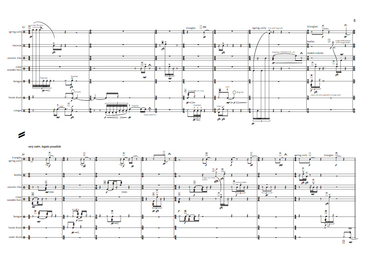Johannes Fischer Kompositionen